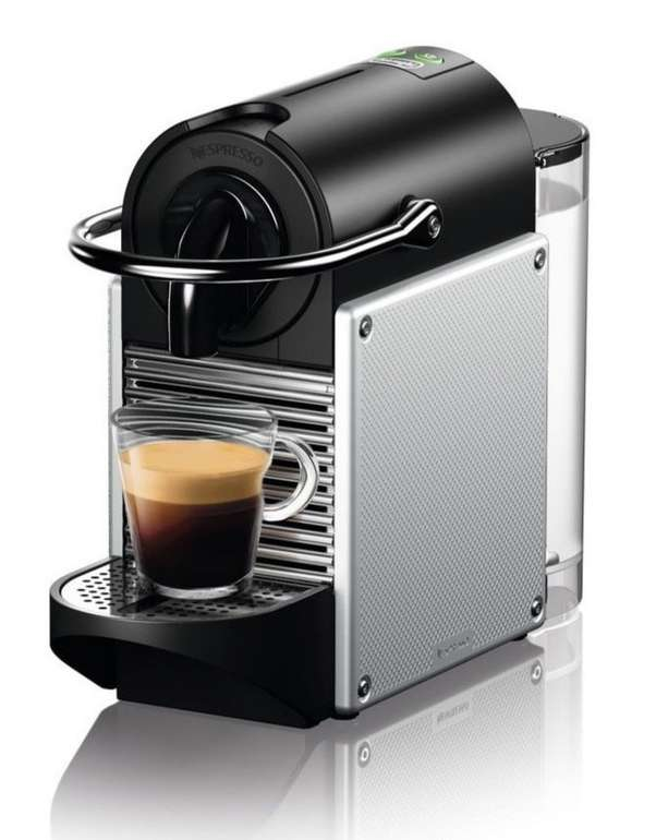De Longhi EN 124.S Pixie Nespressoautomat für 65,25€ inkl. Versand (statt 73€)