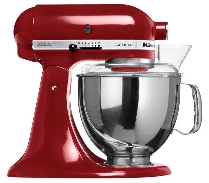 KitchenAid 5KSM150PSEGC Küchenmaschine + Keramikrührschüssel für 469€
