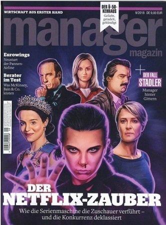 """Knaller! """"Manager Magazin"""" mit 3 Ausgaben für einmalig 5,95€ VSK"""