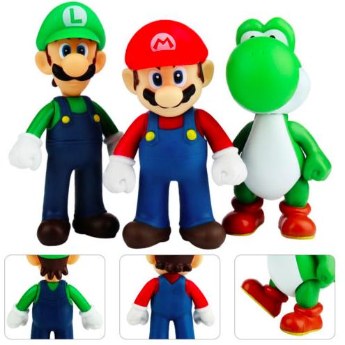 Gratis: Super Mario Bros Luigi Yoshi Action Figuren kostenlos bei eBay bestellen