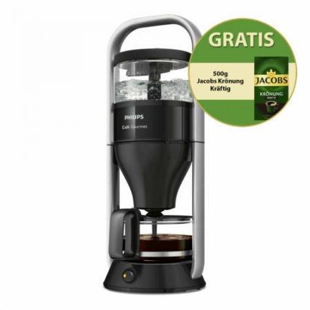 Philips Kaffeemaschine Café Gourmet HD5408/29 + 500g Bohnen für 76,41€ (statt 88€)