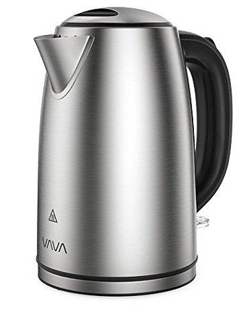 VAVA - 1,7 Liter Elektrischer Edelstahl Wasserkocher für 18,99€ inkl. Prime