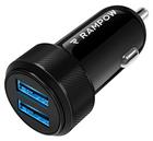 Rampow KFZ Ladegerät mit 2 USB-Ports für 4,49€ inkl. Prime (statt 9€)