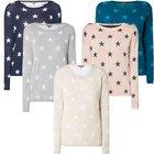 Montego Damen Pullover mit Sternenmuster für 14,99€ inkl. Versand (statt 20€)