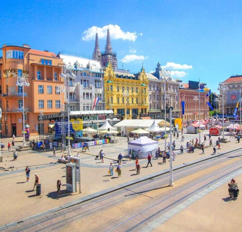 Last Minute: Hin- und Rückflug von Karlsruhe nach Zagreb (Kroatien) für 10€