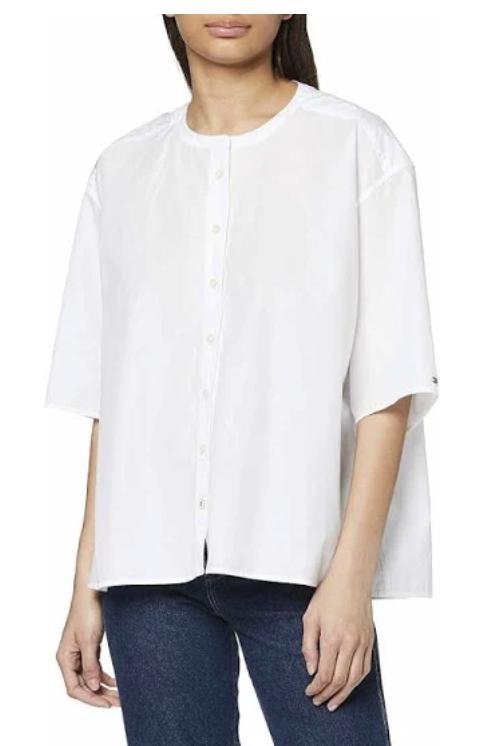 """Tommy Hilfiger Bluse """"Lea"""" in weiß für 28,45€inkl. Versand (statt 53€)"""