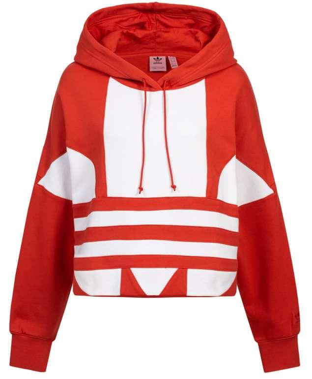 adidas Originals Large Logo Cropped Damen Hoody für 33,94€ inkl. Versand (statt 38€)