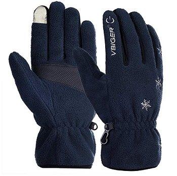 Vbiger Touchscreen Fleece Handschuhe ab 3,60€ mit Prime