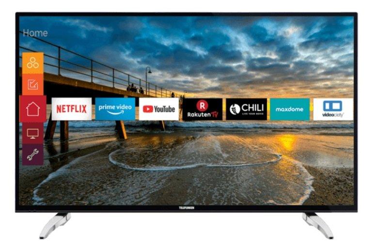 Telefunken D43U297N4CWH LED TV (43 Zoll/109 cm, UHD 4K, SMART TV) für 279€