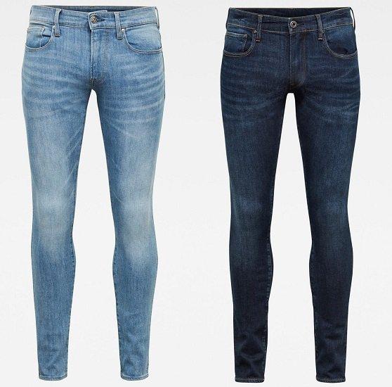 G-Star RAW 3301 Herren Skinny Jeans für 35€ (statt 49€)