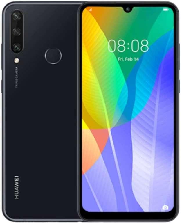 Huawei Y6P -  6.3 Zoll Smartphone mit 64 GB internem Speicher (3 GB RAM, Android 10, EMUI 10.1.) für 102,99€ inkl. Versand (statt 119€)