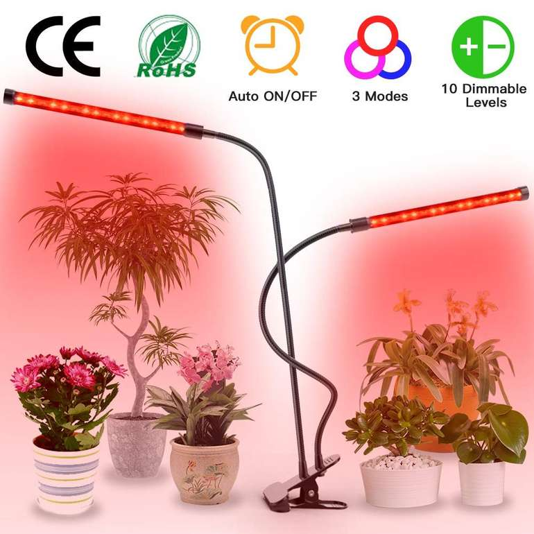 Wakyme 20W Pflanzenlampe mit 3 Farbmodi für 13,49€ inkl. Prime VSK