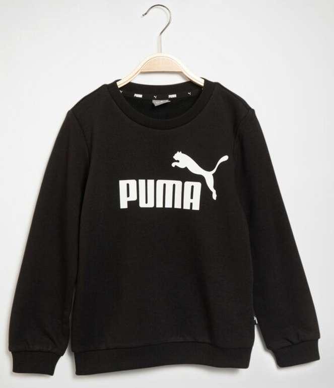 Puma Kinder Sweatshirt in schwarz für 14,83€ inkl. Versand (statt 30€) - MBW: 29,90€