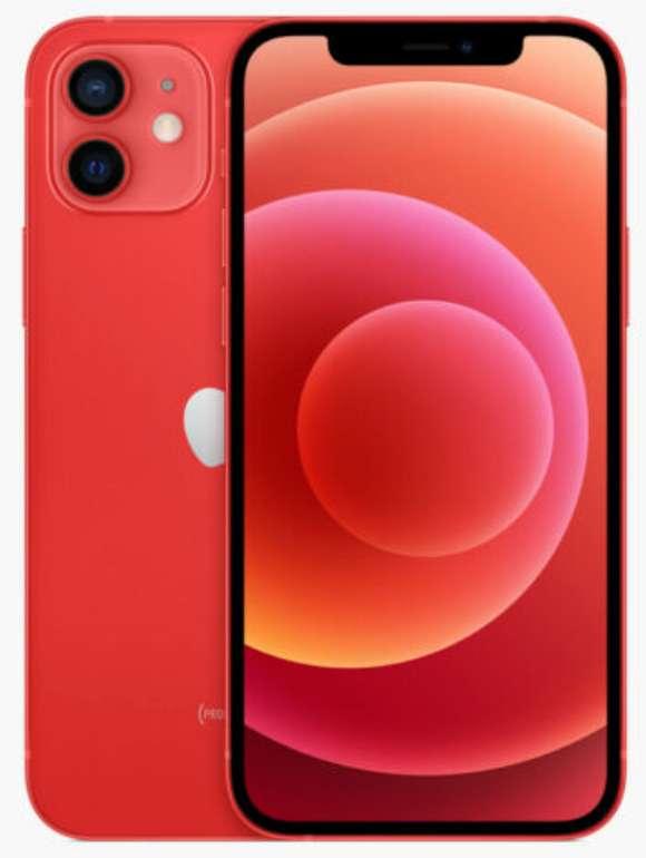 Apple iPhone 12 mit 64 GB in rot für 739€ inkl. Versand (statt 799€)