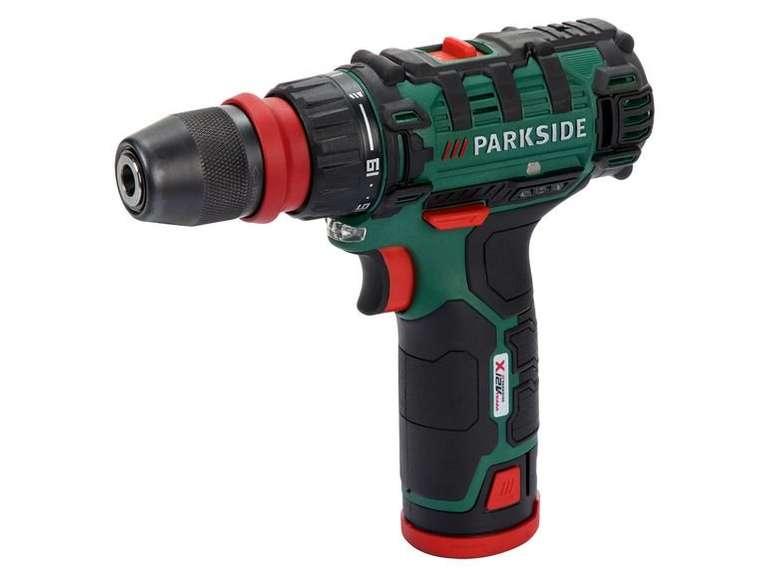 """Parkside® Akku-Bohrschrauber """"PBSA 12 D3"""" für 29,94€ inkl. Versand (statt 35€)"""