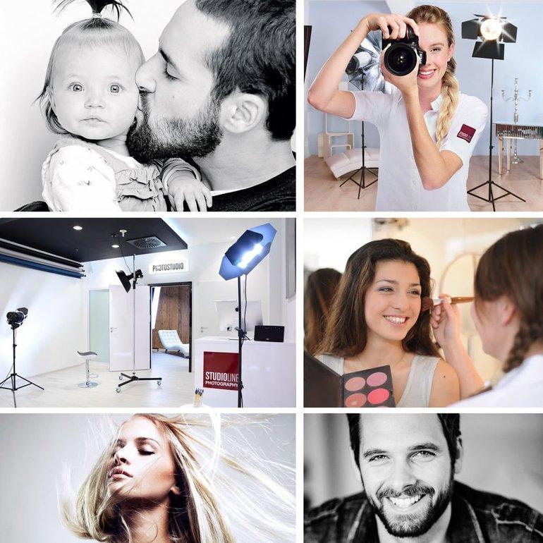Geschenkidee: Studioline Photography Fotoshooting Gutschein inkl. 2 Bilder für 14,92€ (statt 39€)