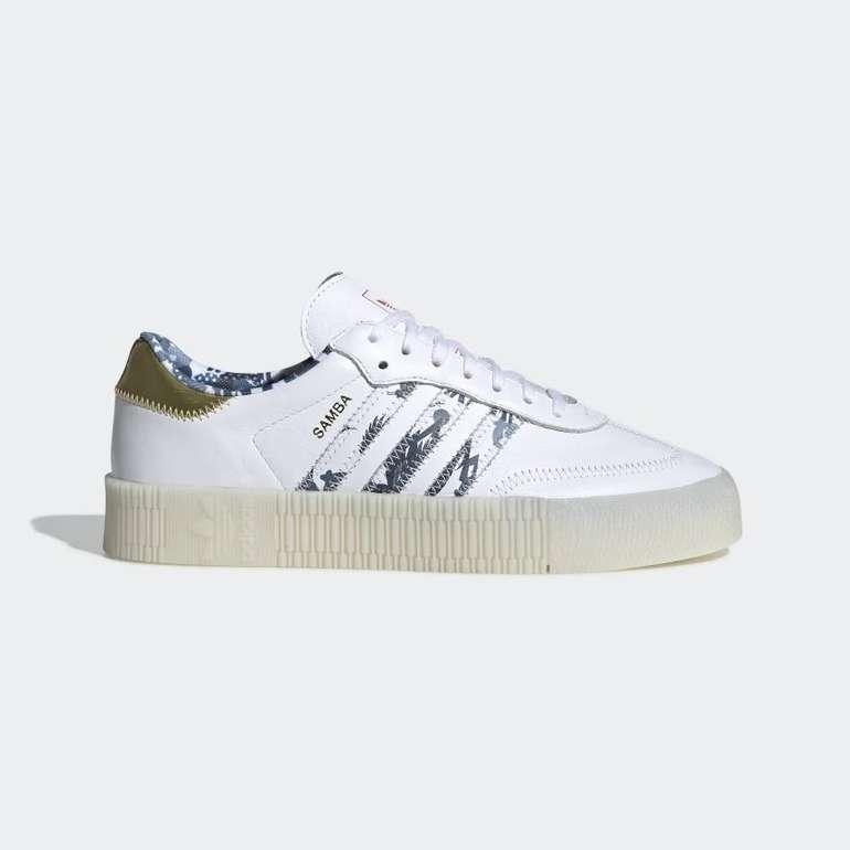 Adidas Sambarose Sneaker in weiß für 50,38€ inkl. Versand (statt 63€)