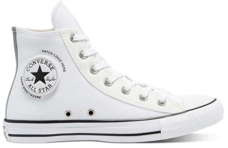 """Converse All Star High """"Patch Logo"""" im """"White"""" Design für 39,99€inkl. Versand (statt 60€)"""
