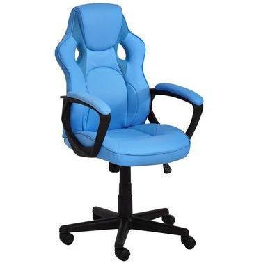 Carry Home Gaming Stuhl in Hellblau/Schwarz für 39,90€ inklusive Versand
