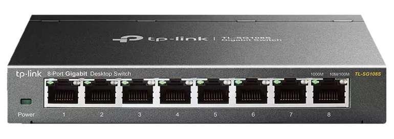 TP-Link 8-Port Gigabit Switch (TL-SG108S) für 19,98€ inkl. Versand (statt 29€)