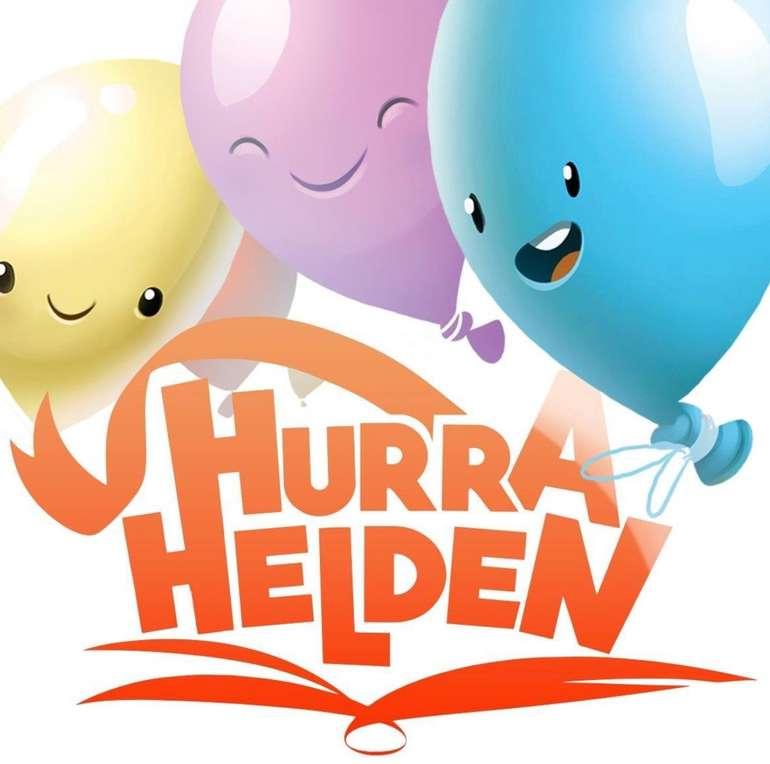Kostenlos: Personalisiertes Malbuch von Hurra Helden als PDF gratis anfordern