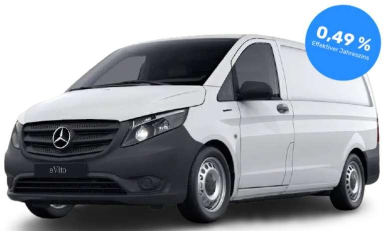Gewerbe Leasing: Mercedes eVito Automatik mit 116 PS für 219€ mtl. (Zulassung: 30€, Überführung: 1249,50€, LF: 0,36)