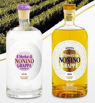 Verschiedene Monovitigno Grappa reduziert z.B. Il Merlot 0,5 Liter für 19,99€