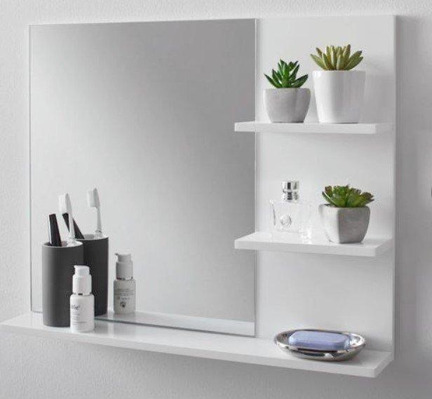 """Spiegelschrank """"Tia"""" in Weiß für 23,38€ inkl. Versand (statt 31€)"""