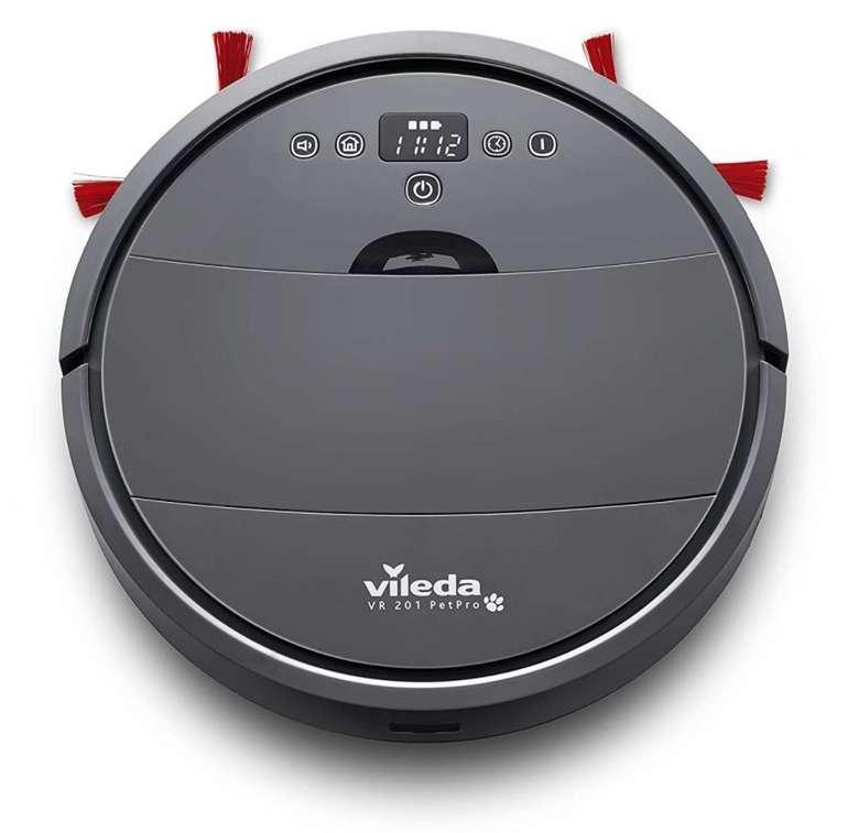 Vileda VR 201 PetPro Saugroboter (optimiert für Tierhaare, 90 Minuten Laufzeit) für 99€ (statt 164€) - B-Ware!
