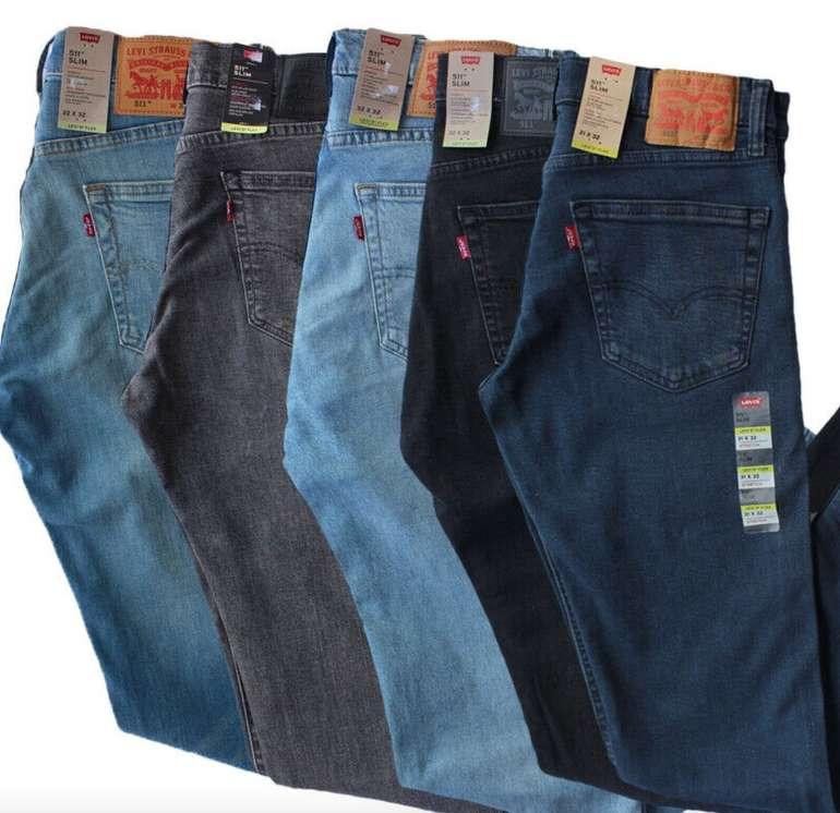 Levis 511 Slim Stretch Flex Herren Jeans (versch. Farben) für je 49,99€ inkl. Versand (statt 60€)