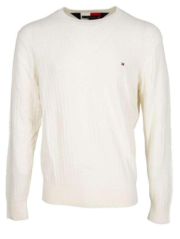 Tommy Hilfiger Struktur Pullover aus Baumwolle (2 Farben) für 59,99€inkl. Versand (statt 100€)