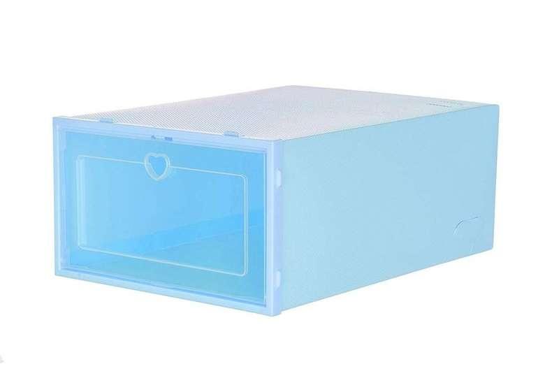 Yebutt stapelbare Aufbewahrungsbox in verschiedenen Farben & 2 Größen für je 3,59€ inkl. Versand