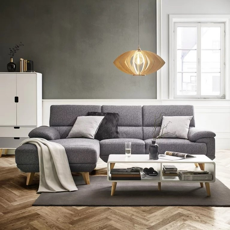 "Bessagi Home Wohnlandschaft ""Sandra"" in Grau für 419,30€ bei Abholung (statt 599€)"