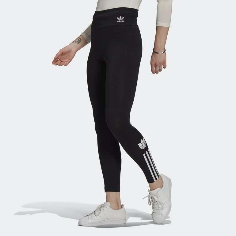 Adidas Adicolor 3D Trefoil High-Waisted Leggings für 22,50€ (statt 28€) - Creators Club!