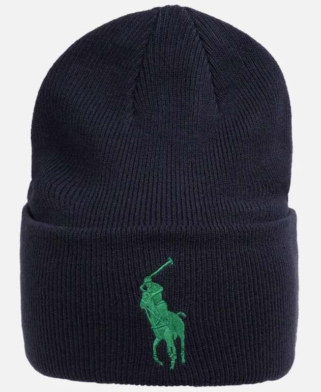 Polo Ralph Lauren Mütze 'Acrylic-Big PP Hat-Hat' in navy für 19,31€ inkl. Versand (statt 29€)