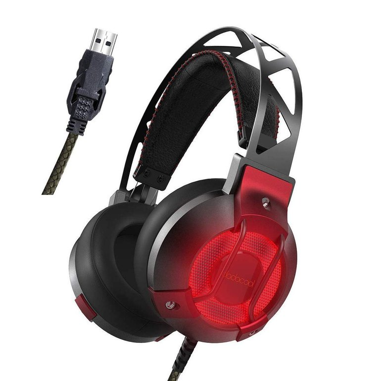 Dodocool Over-Ear Stereo USB Gaming Headset für 16,79€ (Prime)