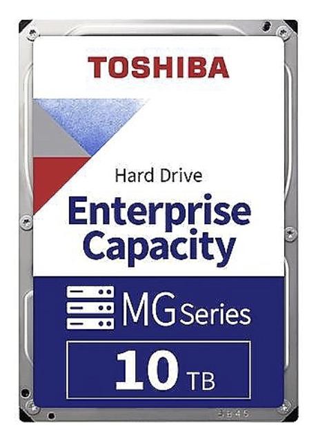 Toshiba Enterprise Capacity MG06ACA10TE mit 10 TB (3,5 Zoll, SATA, 6 Gbit/s) für 203,99€inkl. Versand