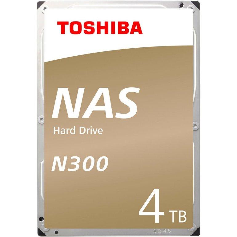 Toshiba NAS-Festplatte N300 mit 4 TB für 100,99€ inkl. VSK