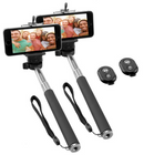 2er Pack Ninetec Picturesmart Bluetooth Selfie Stick für 7,77€ inkl. Versand