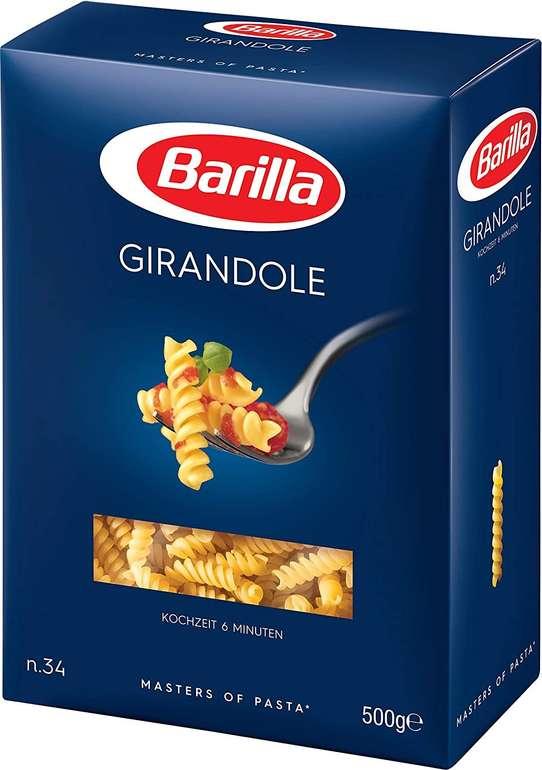 Barilla Girandole No. 34 500g für 0,69€ mit Prime Versand (statt 1,15€)