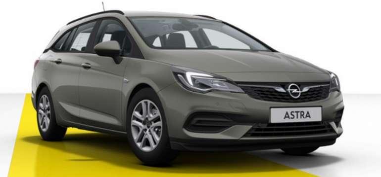 Gewerbeleasing: Opel Astra in Grau mit 110 PS für 89,00€ brutto mtl. (LF: 0,37)