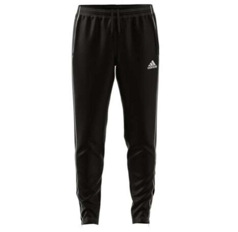 Adidas Trainingshose Core 18 in schwarz für 17,95€ inkl. Versand (statt 22€)