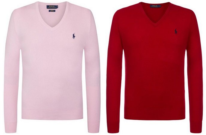 Ralph Lauren Herren V-Neck Pullover  in 4 Farben für 34,95€ (Statt 42€)