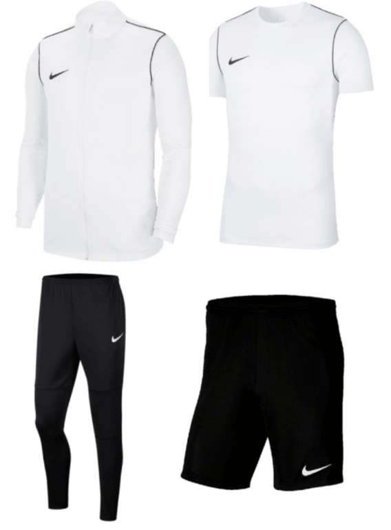 Nike Trainingsset Park 20 (4-teilig) in vielen verschiedenen Farben für 49,95€inkl. Versand (statt 72€)