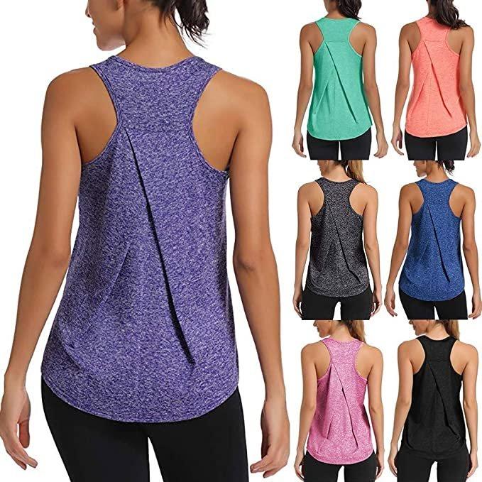 Hechu Damen Yoga Tops ab 7,99€ inkl. Versand (statt 9€)