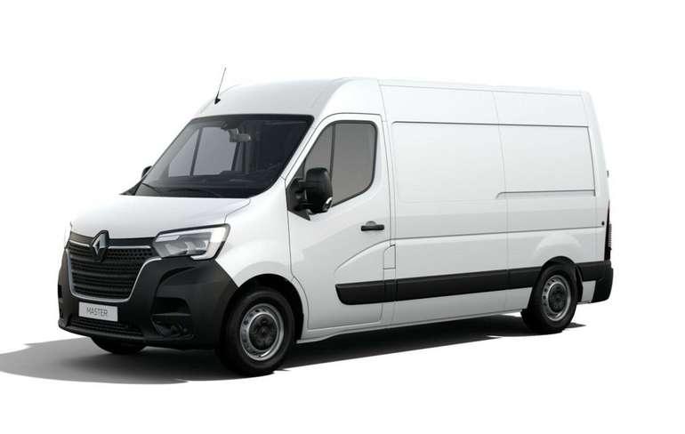 Gewerbe Leasing: Renault Master L2H2 3,3t mit 135 PS für 99€ netto mtl. (ÜF: 940,10€, LF: 0,30)