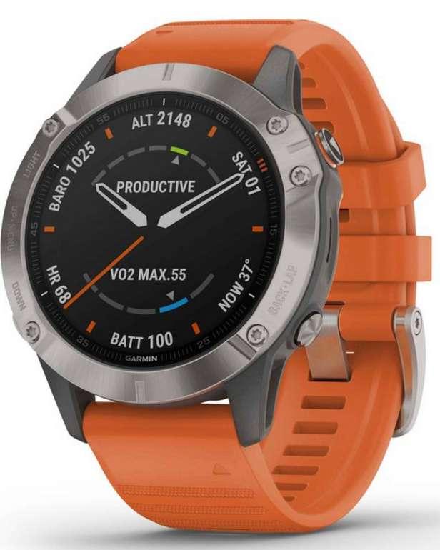 Garmin Fenix 6 Sapphire Titanium Smartwatch für 602,95€ inkl. Versand (statt 650€)