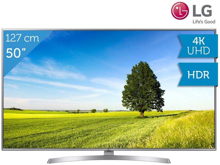 "LG 50UK6950PLB 50"" 4K UHD Fernseher für 548,90€ inkl. Versand"