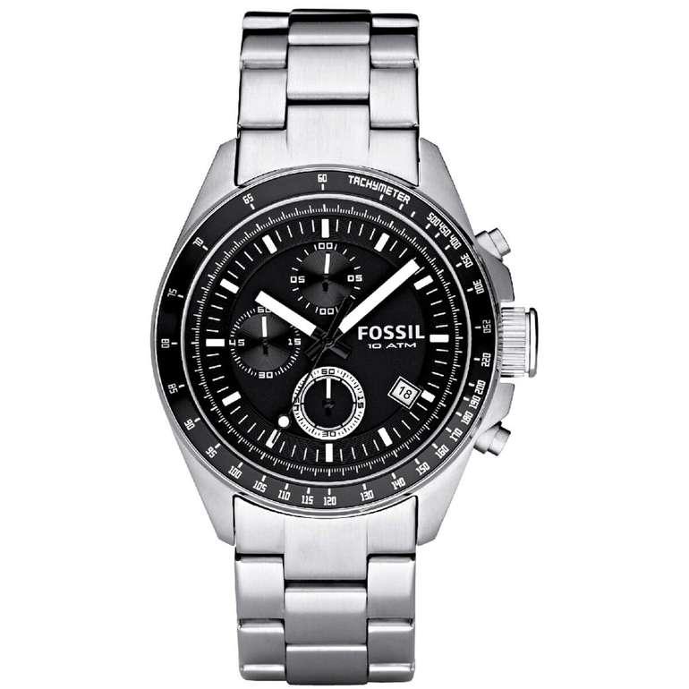 20% auf Uhren und Schmuck bei Galeria.de, z.B Fossil Chronograph Decker CH2600IE für 63,20€ inkl. Versand (statt 75€)