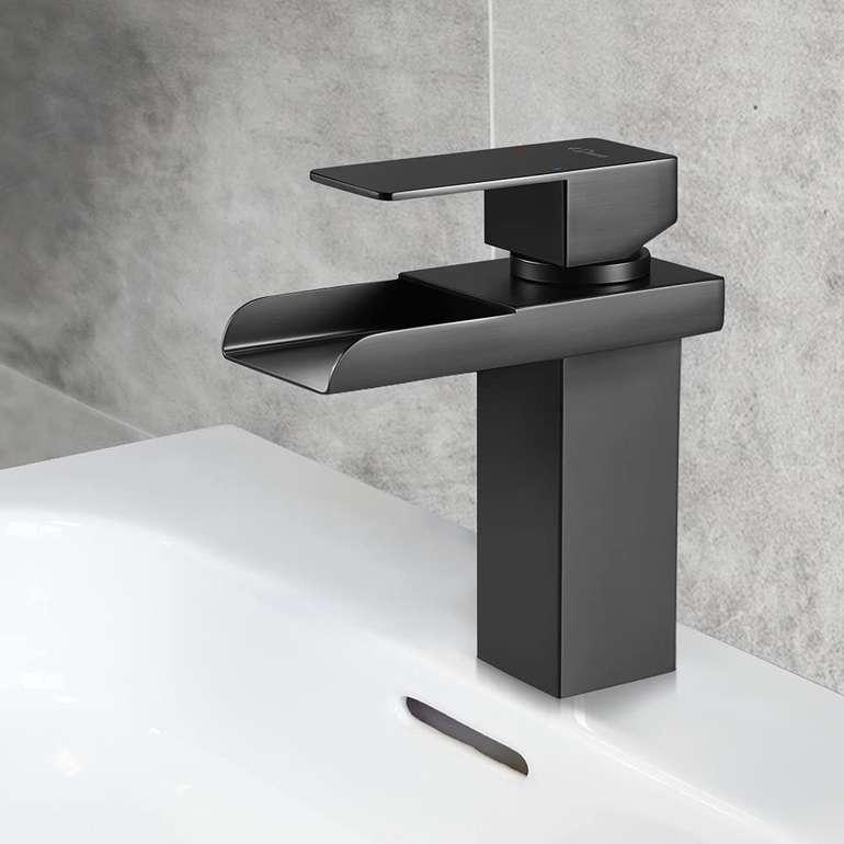 Dmore Wasserhahn (Wasserfalleffekt, Schwarz) für 30,79€ inkl. Prime Versand (statt 43€)